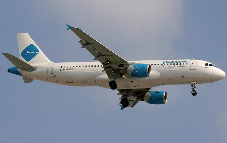 самолет Jazeera Airways